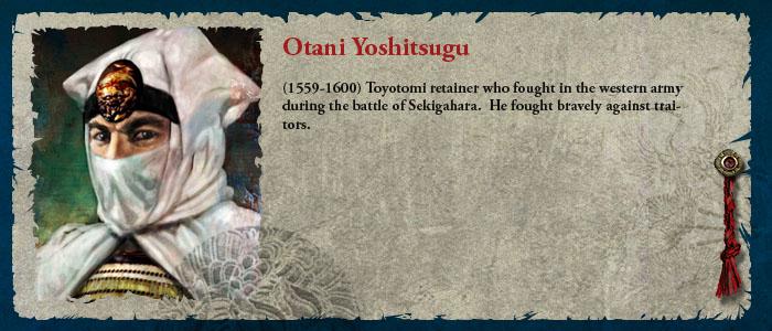 Otani Yoshitsugu
